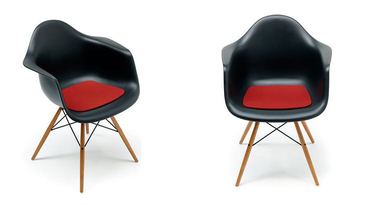 sitzauflage eames plastic armchair hey sign. Black Bedroom Furniture Sets. Home Design Ideas